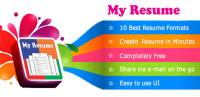 My Resume Builder,CV Free Jobs for PC