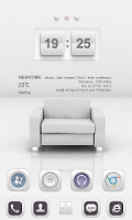 White Soul GO Launcher Theme APK
