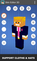 Skin Editor 3D for Minecraft APK