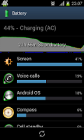 show battery percentage APK