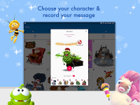 Zoobe - cartoon voice messages APK