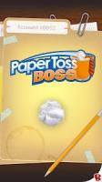 Paper Toss Boss APK