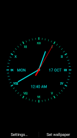 Analog Clock Live Wallpaper for PC