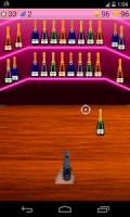 bottle shoot game APK